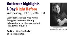 Night Before boasts Pulitzer-winner Gutierrez
