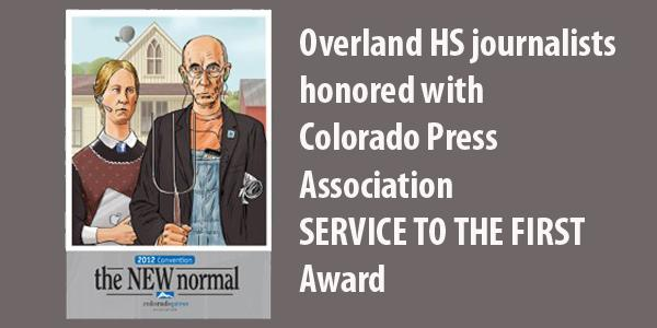 Shaffer, Gutierrez honored for defending student press rights
