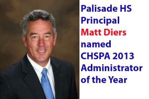 Diers named CHSPA Administrator of Year