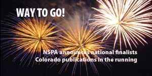 Colorado publications earn recognition from NSPA contests