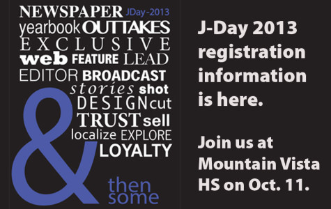Register now for J-Day 2013 at Mountain Vista HS
