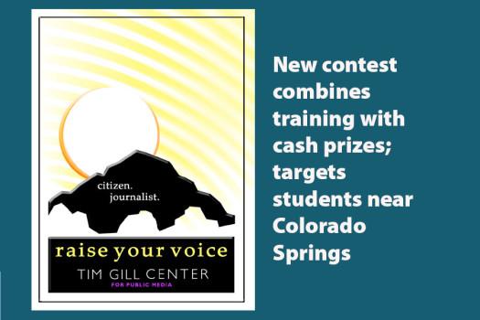 New citizen journalism contest announced