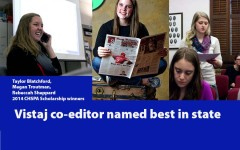 Vistaj editor honored as state's, nation's best
