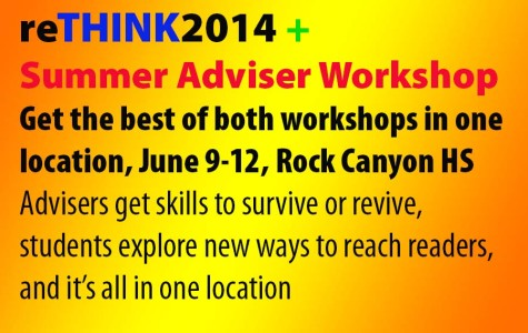 reTHINK2014, Summer Adviser Workshop will connect