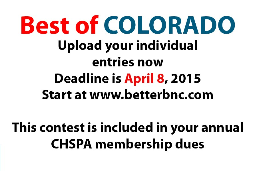 Submission deadline for annual individual contest is April 8