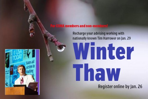 Registration is open for our 2016 Winter Thaw, featuring Tim Harrower
