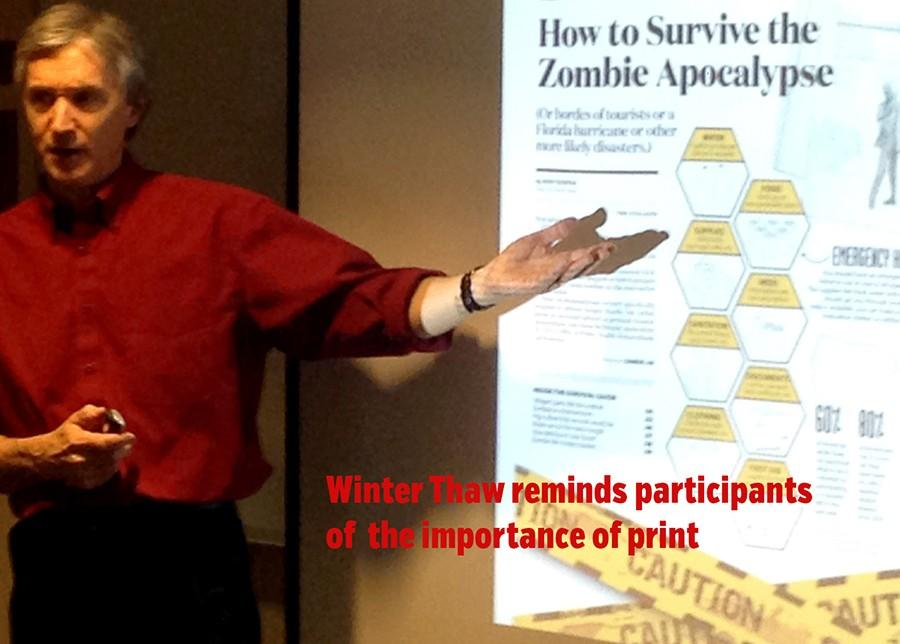 Survival, for advisers and students, headlines Winter Thaw on CU campus