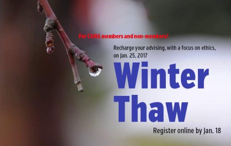 Register now for Winter Thaw – emphasis on ethics and the student press