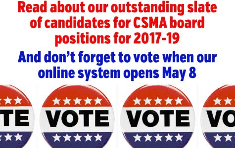 Meet the candidates for CSMA leadership positions