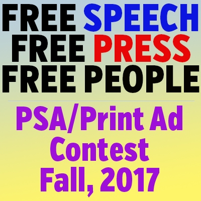 Support the Five Freedoms with our fall First Amendment Contest