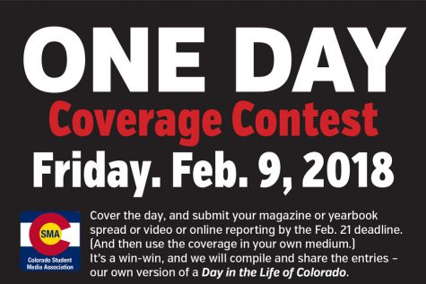 ONE DAY coverage contest focuses on Friday, Feb. 9
