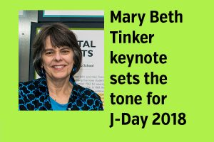 Mary Beth Tinker sets the tone for J-Day