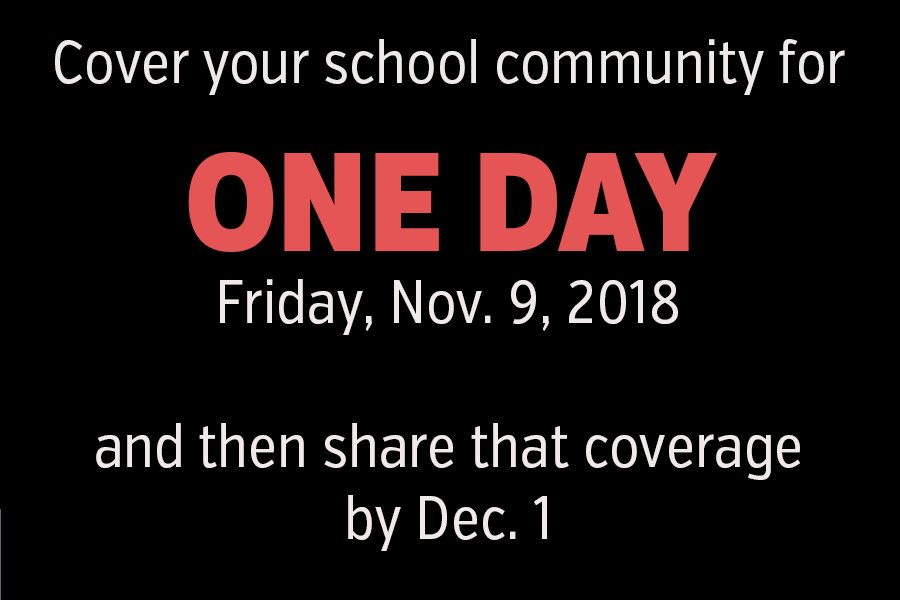 ONE DAY coverage contest focuses on Friday, Nov. 9