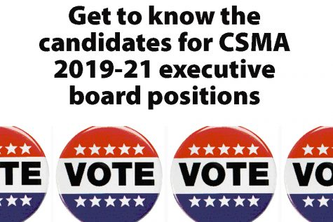 Candidates for 2019-21 CSMA executive board positions announced
