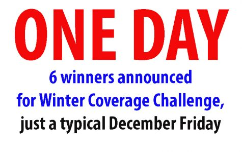Six schools earn vouchers recognizing ONE DAY coverage