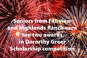 Fairview senior wins <br />2020 Greer Scholarship