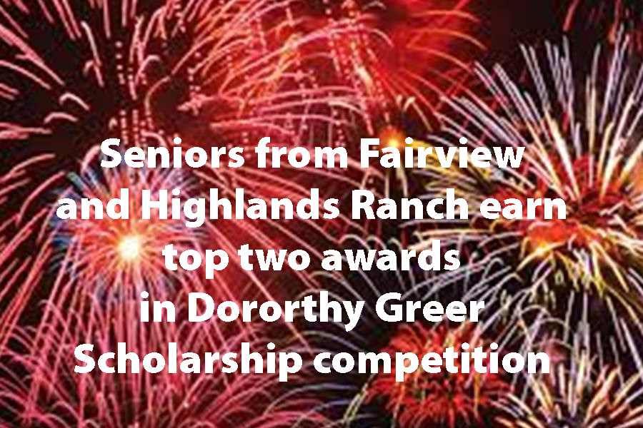 Fairview senior wins 2020 Greer Scholarship