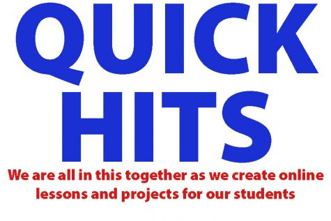 April 27 quick ideas for lessons, projects